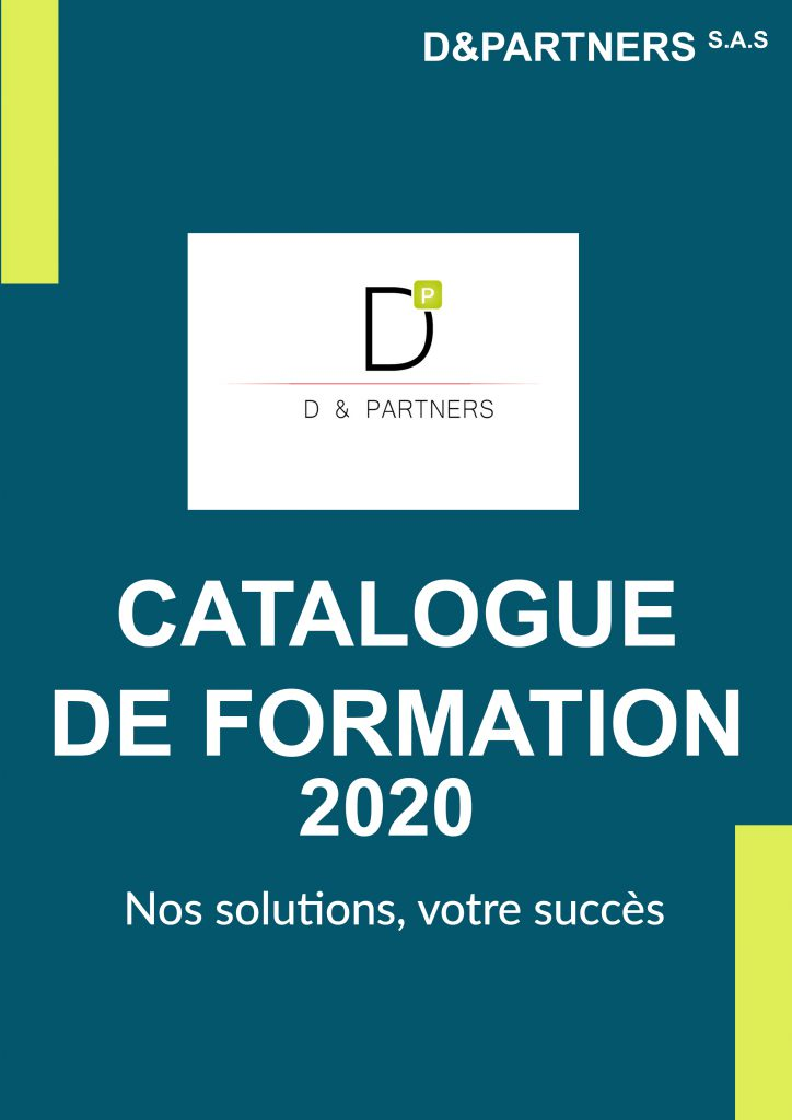 CATALOGUE D&PARTNERS 2020